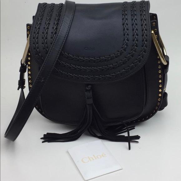 CHLOÉ Medium Hudson' Tassel Leather Shoulder Bag